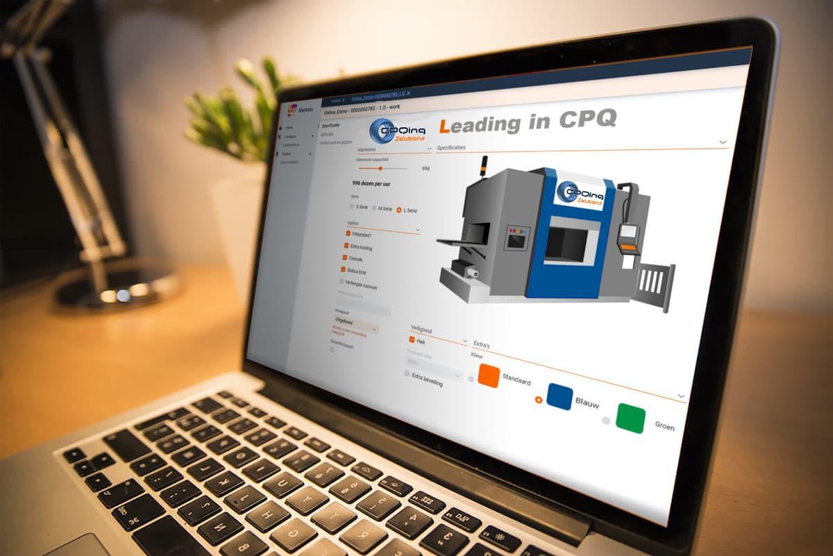 cpq software in actie
